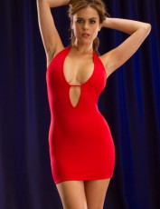 red-matte-keyhole-dress-up-to-xl
