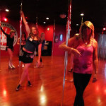 crossdressers pole dancing