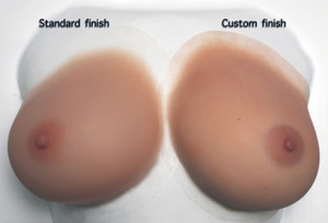 real breast forms photo sample